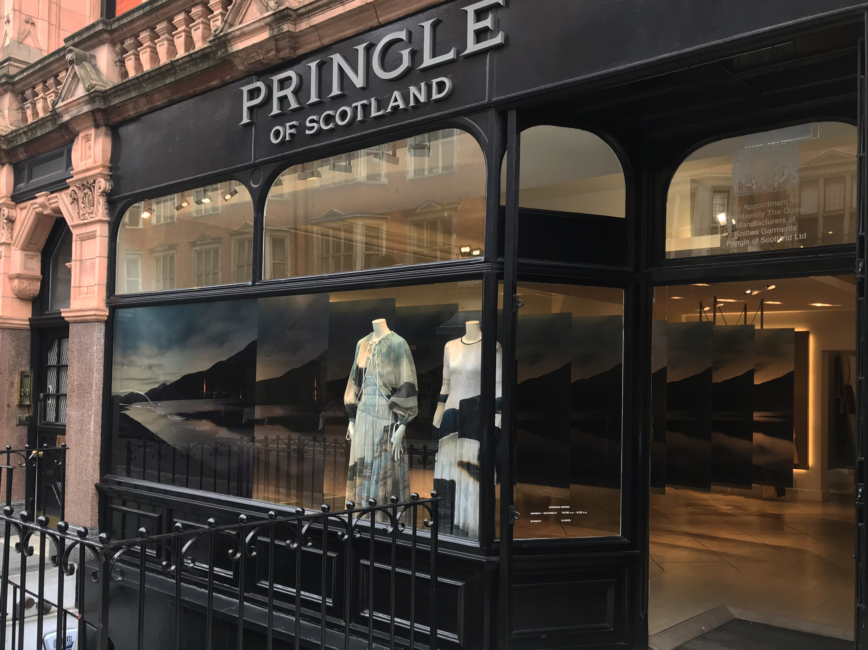 Pringle of Scotland London Fashion Week 2018